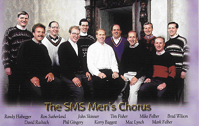 SMS Men's Chorus Group Picture (1997)